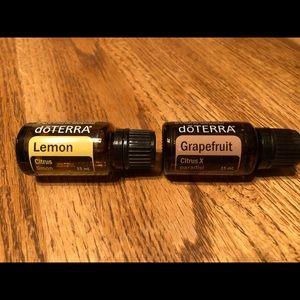 🆕 doTERRA Grapefruit and Lemon Essential Oils